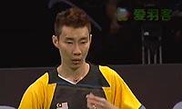 李宗伟VS约根森 2013丹麦公开赛 男单1/4决赛视频