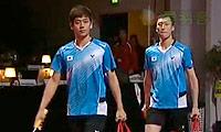 李龙大/柳延星VS鲍伊/摩根森 2013丹麦公开赛 男双半决赛视频