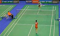 三谷美菜津VS申克 2013法国公开赛 女单1/8决赛视频
