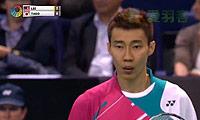 田儿贤一VS李宗伟 2013法国公开赛 男单半决赛视频