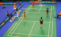 徐晨/马晋VS乔丹/玛丽莎 2013法国公开赛 混双1/4决赛视频
