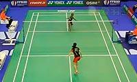 王适娴VS瓦兰 2013法国公开赛 女单1/8决赛视频