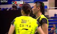 张楠/赵芸蕾VS徐晨/马晋 2013法国公开赛 混双决赛视频