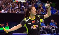 王适娴VS蓬迪 2013法国公开赛 女单决赛视频