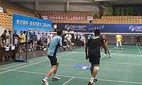 王双/张伟鸿VS谢阳春/陈凌 2013自贡市运会羽毛球 男双半决赛视频