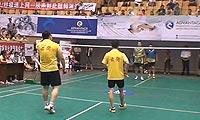 谢阳春/牛鑫VS张甜/徐练 2013自贡市运会羽毛球 男双决赛视频
