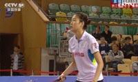 周卉VS孙瑜 2013中国羽超联赛 女单资格赛视频