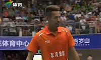 林丹VS金胜 2013中国羽超联赛 男单资格赛视频