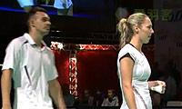 福克斯/迈克斯VS爱德考克/怀特 2013碧特博格公开赛 混双决赛视频