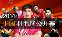 2013年中國羽毛球公開賽