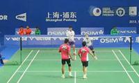 艾哈迈德/纳西尔VS刘成/包宜鑫 2013中国公开赛 混双1/16决赛视频
