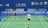 姚雪VS申克 2013中国公开赛 女单1/16决赛视频