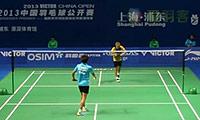 张维峰VS坦农萨克 2013中国公开赛 男单1/16决赛视频
