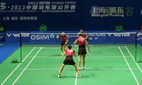 潘乐恩/谢影雪VS格里斯威斯基/迈克斯 2013中国公开赛 女双1/16决赛视频