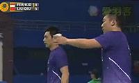 刘小龙/邱子瀚VS费尔纳迪/基多 2013中国公开赛 男双1/8决赛视频