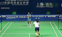 蓬迪VS王仪涵 2013中国公开赛 女单1/4决赛视频