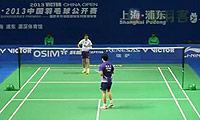 李雪芮VS何冰娇 2013中国公开赛 女单1/8决赛视频