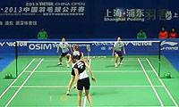 佩蒂森/尤尔VS骆赢/骆羽 2013中国公开赛 女双1/8决赛视频