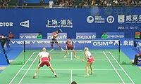 艾哈迈德/纳西尔VS克里斯蒂安森/霍曼 2013中国公开赛 混双1/4决赛视频