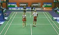 克里斯蒂安森/霍曼VS苏吉特/莎拉丽 2013香港公开赛 混双1/16决赛视频