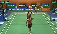 金基正/金沙朗VS玛尼蓬/尼迪蓬 2013香港公开赛 男双1/16决赛视频