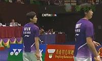 区冬妮/唐渊渟VS佩蒂森/尤尔 2013香港公开赛 女双半决赛视频