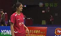 王仪涵VS蓬迪 2013香港公开赛 女单半决赛视频