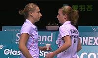 穆斯肯斯/皮克VS班克尔/内德尔奇娃 2013苏格兰公开赛 女双半决赛视频
