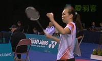 吉尔莫VS章杯纹 2013苏格兰公开赛 女单1/8决赛视频