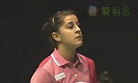 马琳VS吉尔莫 2013苏格兰公开赛 女单决赛视频