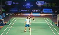约根森VS波萨那 2013世界羽联总决赛 男单资格赛视频