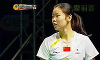 李雪芮VS内维尔 2013世界羽联总决赛 女单资格赛视频