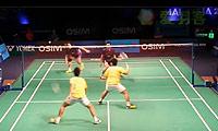 云天豪/陈伟强VS刘小龙/邱子瀚 2013世界羽联总决赛 男双资格赛视频