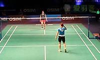 裴延姝VS三谷美菜津 2013世界羽联总决赛 女单资格赛视频