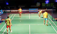 爱德考克/怀特VS基多/皮娅 2013世界羽联总决赛 混双资格赛视频