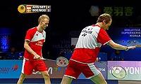 阿山/塞蒂亚万VS鲍伊/摩根森 2013世界羽联总决赛 男双半决赛视频