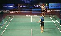 李雪芮VS裴延姝 2013世界羽联总决赛 女单半决赛视频