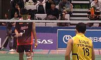 佐佐木翔VS桃田贤斗 2013日本羽毛球联赛 男单资格赛视频