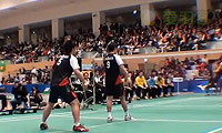 平田典靖/桥本博且VS早川贤一/远藤大由 2013日本羽毛球联赛 男双资格赛视频