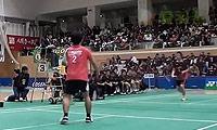 星野健太朗VS田儿贤一 2013日本羽毛球联赛 男单资格赛视频