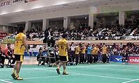数野健太/井上拓斗VS园田启悟/嘉村健士 2013日本羽毛球联赛 男双资格赛视频
