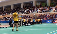 坂井一将VS佐佐木翔 2013日本羽毛球联赛 男单资格赛视频