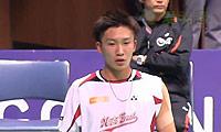 桃田贤斗VS园田启悟 2013日本全国锦标赛 男单资格赛视频