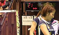 高桥礼华/松友美佐纪VS藤井瑞希/末纲聪子 2013日本全国锦标赛 女双1/4决赛视频