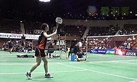 三谷美菜津VS桥本由衣 2013日本全国锦标赛 女单1/4决赛视频