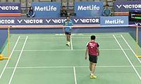 阮天明VS朴成敏 2014韩国公开赛 男单1/8决赛视频
