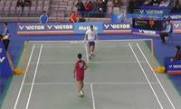杜鹏宇VS佐佐木翔 2014韩国公开赛 男单1/16决赛视频