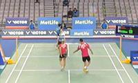 爱德考克/加布里VS全棒澯/高爱罗 2014韩国公开赛 混双1/16决赛视频