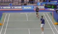 茨维布勒VS阿萨尔森 2014韩国公开赛 男单1/16决赛视频