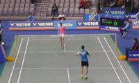马琳VS金效旻 2014韩国公开赛 女单1/16决赛明仕亚洲官网